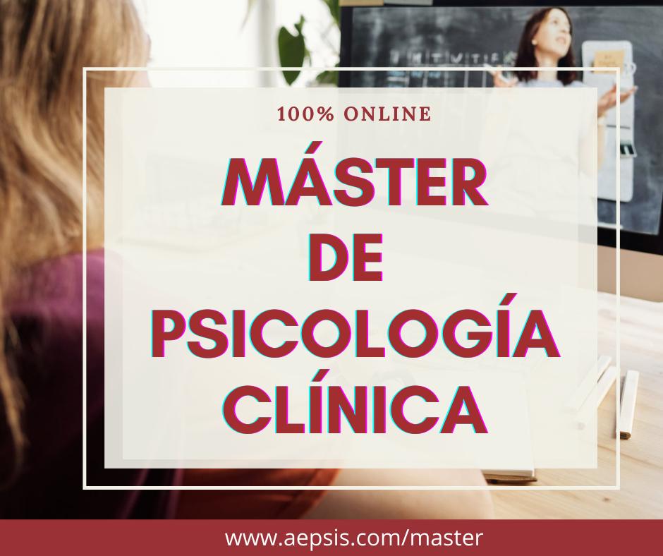 máster de psicología clínica